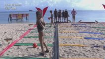 Isola dei famosi, Francesca Lodo vince la prova leader per le donne