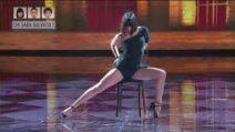 Amici, Martina balla sulle note di Libertango
