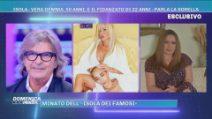 Domenica Live: La sorella di Vera Gemma sul fidanzato 22enne Jeda