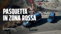 Pasquetta in zona rossa in Campania: nonostante i controlli ancora troppe persone in strada