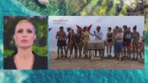 L'Isola dei Famosi - La prova ricompensa: Formazione squadre