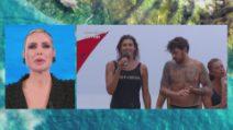 L'Isola dei Famosi - Elisa Isoardi e Andrea Cerioli al televoto flash