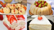 4 Light and delicious recipes with strawberries!