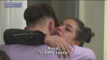 Amici 20 - Rosa lascia la casetta e saluta Deddy