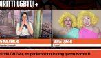 DIRITTI LGBTQIA+, 'Con gentilezza possiamo sentirci più vicini', intervista alle Drag Queen Karma B