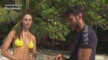 L'Isola dei Famosi - Beatrice Marchetti e il faccia a faccia con Awed