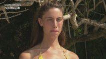 L'Isola dei Famosi - Beatrice Marchetti eliminata
