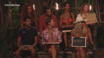 L'Isola dei Famosi - I naufraghi votano il leader