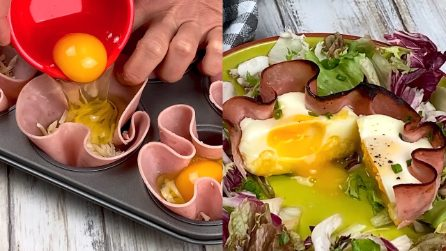 Egg cups in oven: quick and tasty!