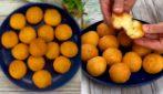 Polpettine di formaggio con 3 ingredienti: filanti e buonissime, sono perfette come antipasto!