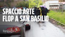 """""""Spaccio Arte"""" a San Basilio: flop per il primo appuntamento in periferia con la sindaca Raggi"""
