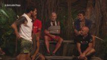 Le nomination palesi durante l'ottava puntata dell'Isola