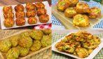 4 Ricette con le zucchine facili e veloci!