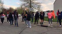 Le proteste dopo la morte della giovane Makiyah Bryant in Ohio