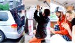 Trasformano la loro auto in un camper in miniatura: l'idea originale per viaggiare spendendo poco