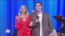 Maurizio Costanzo Show - Stefania Orlando e Tommaso Zorzi cantano ''La filanda'''