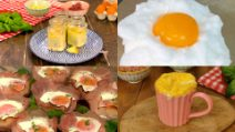 8 creative and original egg recipes!