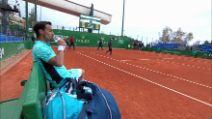 ATP Montecarlo, Fognini batte Krajinovic: il match point