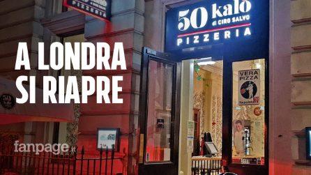 """Pizzerie napoletane riaprono a Londra, Ciro Salvo: """"In Inghilterra si riparte, da noi tutto fermo"""""""