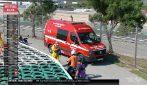 MotoGP, brutta caduta per Martin, colpito dalla sua stessa moto
