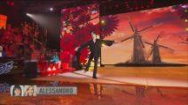 Amici 2021, Alessandro balla Don Quixote
