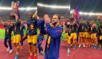 Barcellona, Pjanic e compagni festeggiano la Copa del Rey