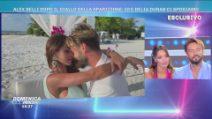 Domenica Live - La proposta di matrimonio di Alex Belli a Delia Duran