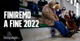 """A Baronissi, Salerno, vaccinate 55 persone al giorno: """"Così finiremo ad ottobre 2022"""""""
