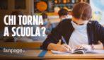 Scuola, chi rientra in classe dal 26 aprile: ecco cosa prevede il nuovo decreto Covid