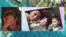 L'Isola dei Famosi - Le lacrime di Valentina Persia, il saluto dei figli