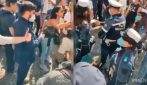 Modena, negazionisti e no mask in piazza: urla contro la Polizia Municipale