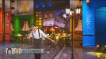 "Amici 2021, sesta puntata: Alessandro balla ""Les bourgeois"""