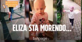 Eliza, la tiktoker di 2 anni che lotta contro il cancro sta morendo: sospese le cure