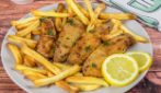 Air fryer crispy chicken + fries: crunchy and tasty ready in few minutes!