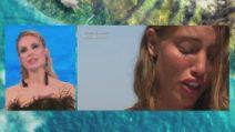 L'Isola dei Famosi 2021, Beatrice Marchetti si commuove per la lettera del fidanzato Mathieu Magni