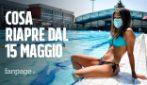 Riaprono le piscine all'aperto: cosa riparte dal 15 maggio e quali saranno le prossime attività