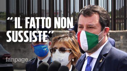 """Caso Gregoretti, Salvini prosciolto: """"Quando tornerò al governo farò esattamente le stesse cose"""""""