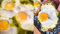 Pesto eggs: how to make the viral tiktok recipe at home!