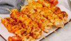 Spiedini di pollo con paprika fatta in casa: perfetti per una cena saporita!