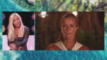 """L'Isola dei Famosi 2021, il confronto tra Vera Gemma e Valentina Persia: """"C'è una sola queen"""""""