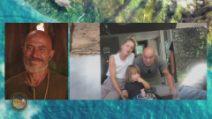 L'Isola dei Famosi - Roberto Ciufoli saluta il figlio e la moglie