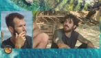 L'Isola dei Famosi 2021, Ignazio Moser e Andrea Cerioli contro Matteo Diamante