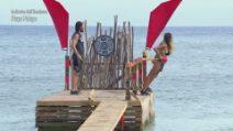 L'Isola dei Famosi - Ignazio Moser salva Rosaria Cannavò