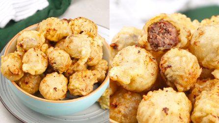 Polpette impanate e fritte: leggerissime, finiranno in pochi minuti!