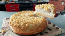 Crumble yogurt cake: the delicious dessert very easy to make