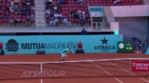 Madrid, Berrettini agli ottavi: battuto Fognini 6-3, 6-4