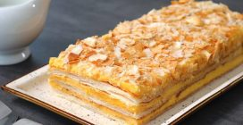 Millefeuille cake: the creamy, crispy and delicious recipe