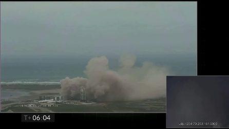 L'atterraggio della Starship SN15 di SpaceX