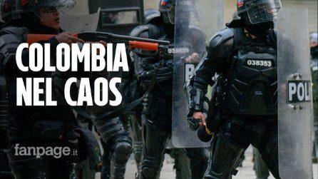 """""""Ci stanno ammazzando!"""": polizia spara e uccide 30 manifestanti, la Colombia è fuori controllo"""