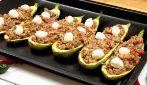 Zucchine ripiene al forno: un piatto completo e ricco di gusto